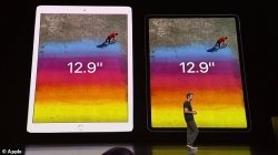 "Apple prezanton tabletin e ri pa butonin ""Home"""