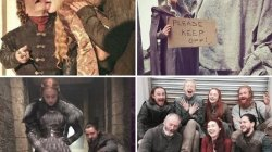 "Publikohen foto interesante nga shesh-xhirimet e ""Game of Thrones"""