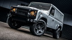 "Kahn Design prezanton Defenderin e ri ""super hero"""