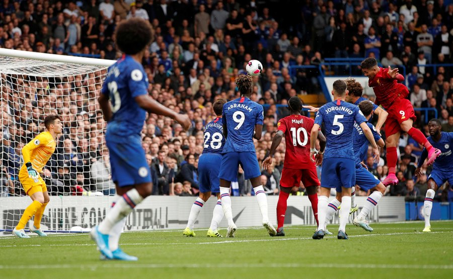 Formacionet zyrtare, Chelsea – Liverpool
