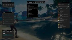 Windows 10 game bar e tregon frameratin dhe interfejsin me arritjet