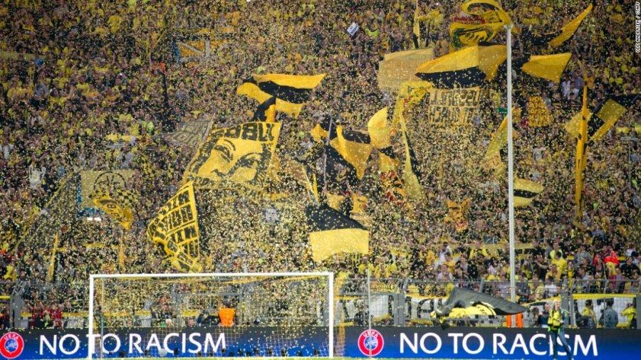"""""""Muri i Verdhë"""" i Dortmundit, xhevahiri i futbollit gjerman"""