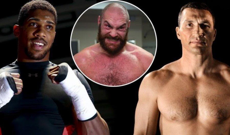 Klitschko flet për duelin e mundshëm Joshua - Fury