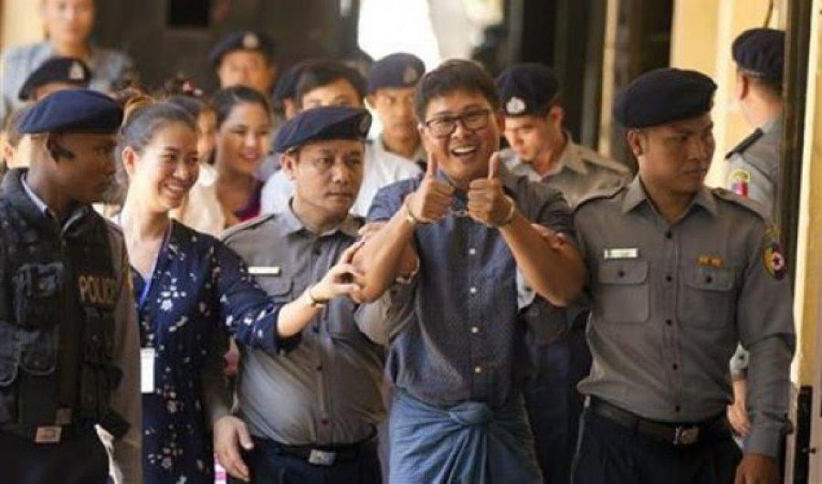 Presidenti i Myanmarit amniston më shumë se 8500 të burgosur