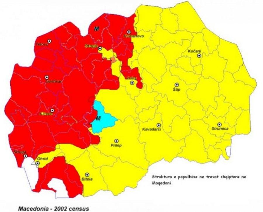 Si do të ndahej Maqedonia sipas planit të akademikëve të këtij vendi