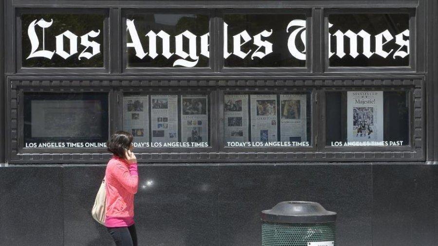 """Gazeta """"Los Angeles Times"""" shitet për 500 milionë dollarë"""