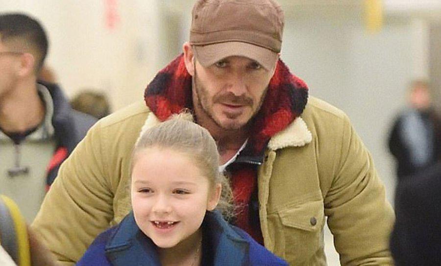 David Beckham, një baba i përkushtuar