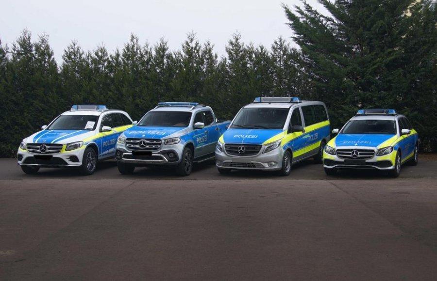Mercedesët e ri luksozë që i shtohen policisë gjermane