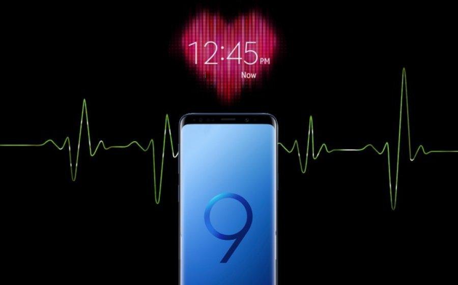 Galaxy S9/S9+ mund të masin shtypjen e gjakut dhe nivelin e stresit