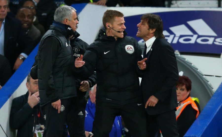 """""""Një palaço në bankinë"""", Conte i kundërpërgjigjet Mourinhos"""