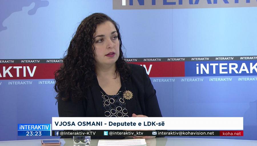 Osmani flet për pasojat që mund të ketë Kosova dhe individët nëse zhbëhet Specialja