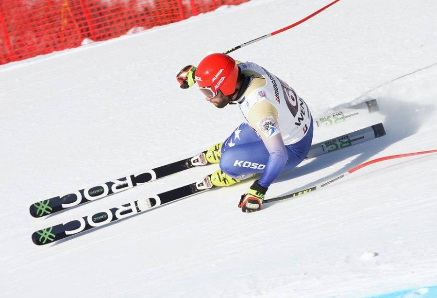 Skitari Tahiri thyen rekordin personal të shpejtësisë në Botëror