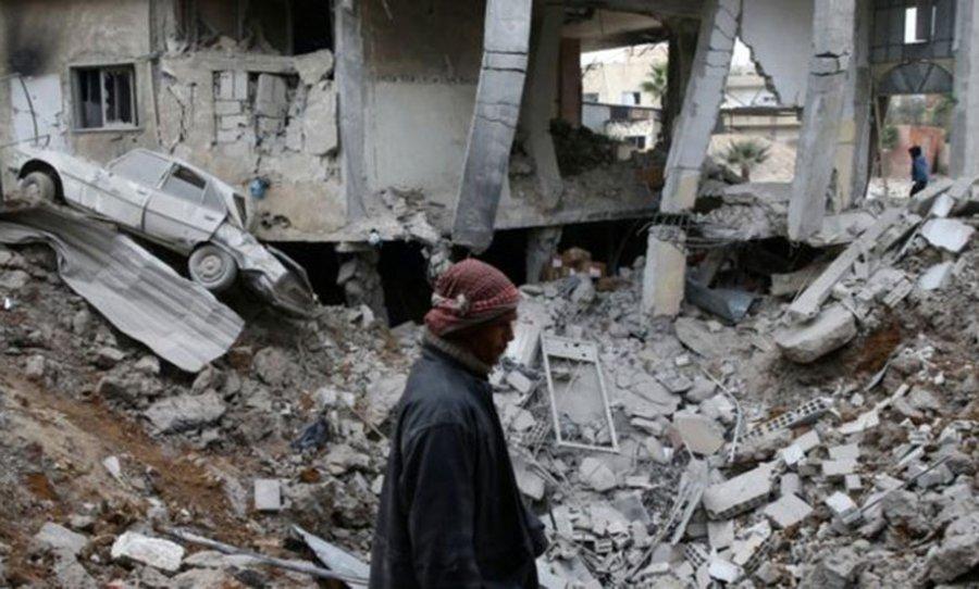 Lufta civile në Siri, tjetër sulm me armë kimike