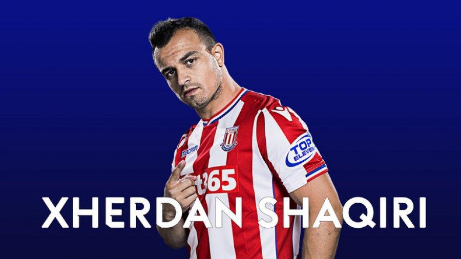 Xherdan Shaqiri - më i miri i Stoke Cityt