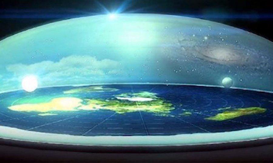 """""""Toka është e sheshtë, NASA po fsheh Zotin"""""""