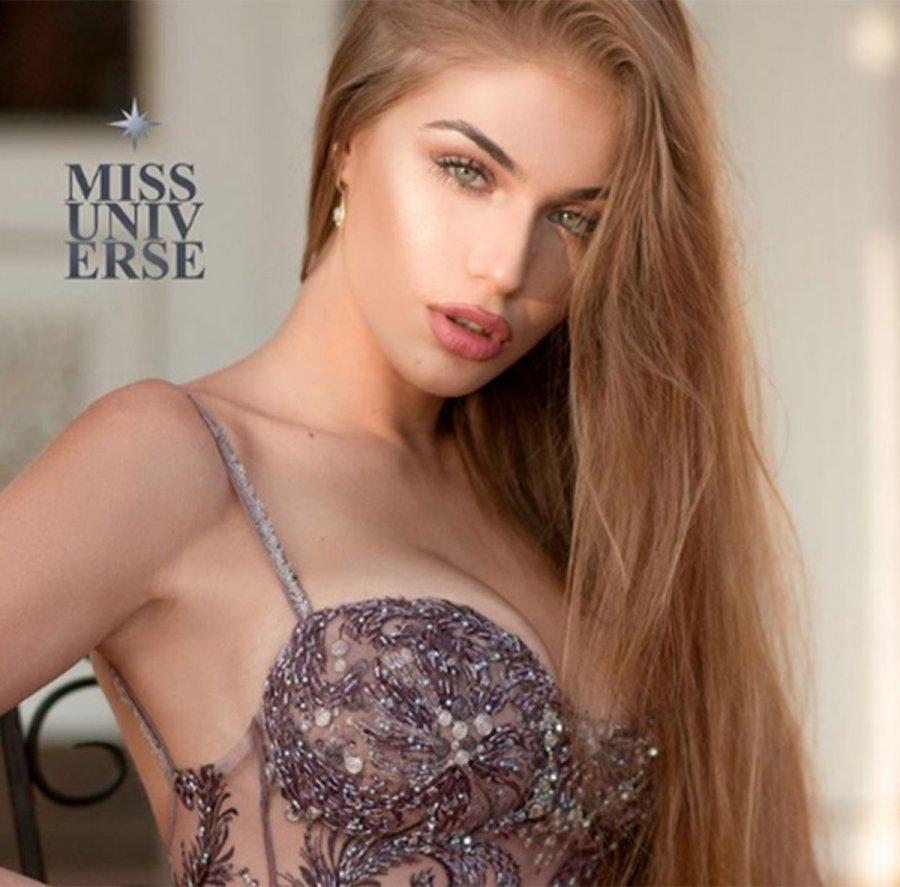 Trejsi Sejdini 'Miss Universe Albania 2018'