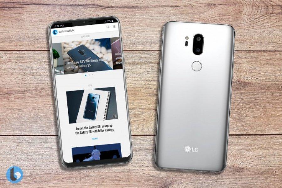 LG G7 në fotografi