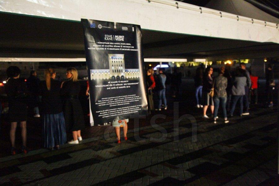Instalacioni  Edhe muret kanë veshë   ndërgjegjësim për krimet e diktaturës